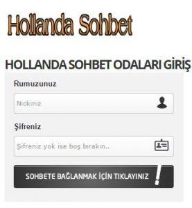 hollanda kızlarla sohbet
