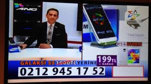 Televizyonda yayınlanan samsung S5 sahtekarlıgı